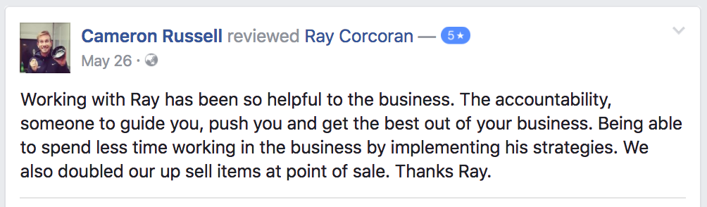 ray-corcoran-review-testimonial-cameron-russell