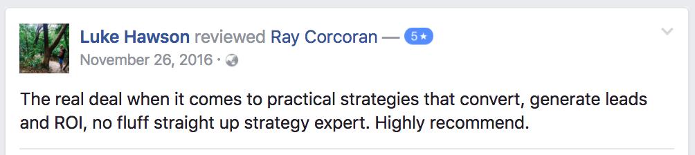 ray-corcoran-review-testimonial-luke-hawson