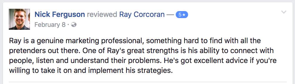 ray-corcoran-review-testimonial-nick-ferguson