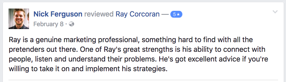 ray-corcoran-review-testimonial-nick-ferguson