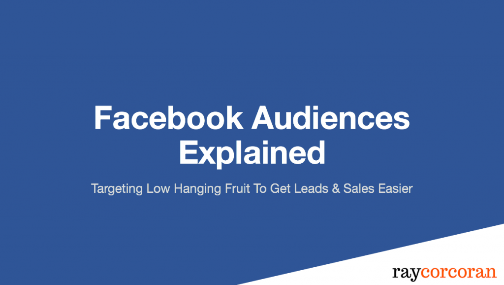 How to get leads and customers using Facebook Marketing Custom Audiences